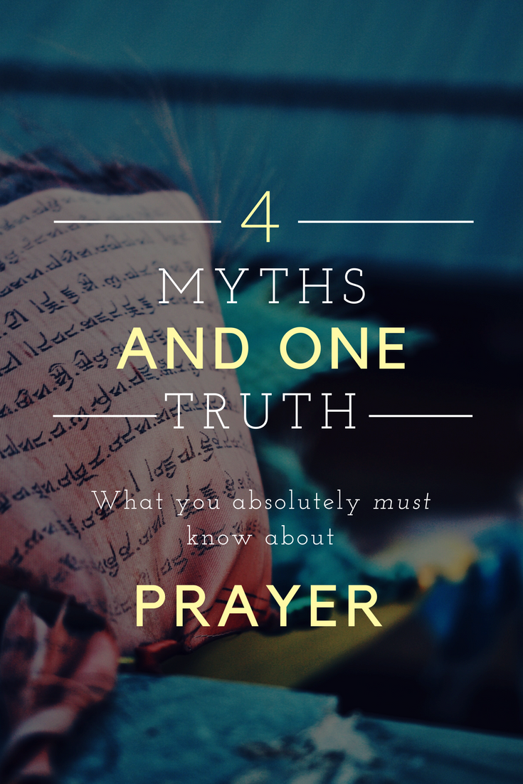 How Does Prayer Work: Dispelling the Myths - This Crazy